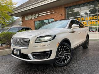 Used 2019 Lincoln Nautilus 2.0 T AWD Reserve Panoramic Roof Auto Parking Cert for sale in Concord, ON