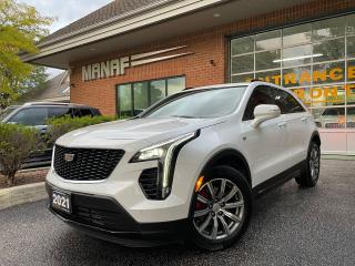 Used 2021 Cadillac XT4 AWD Sport Navi HUD Rear Cam Panoramic Roof Certi* for sale in Concord, ON