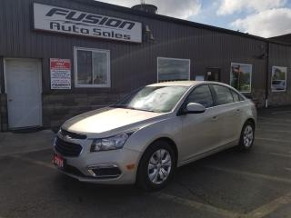 Used 2016 Chevrolet Cruze LT-BACK UP CAMERA-BLUETOOTH-SAT RADIO for sale in Tilbury, ON