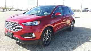 New 2021 Ford Edge Titanium for sale in Elie, MB