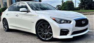 Used 2016 Infiniti Q50 Red Sport 400 for sale in Burlington, ON