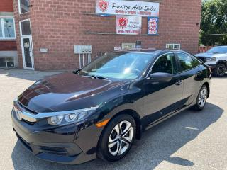 Used 2016 Honda Civic 2L/ONE OWNER/NO ACCIDENTS/SAFETY INCLUDED for sale in Cambridge, ON