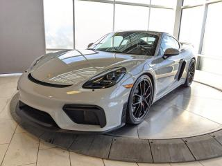 Used 2020 Porsche 718 Cayman GT4   Manual   CPO   Ext. Warranty   LOW KMS! for sale in Edmonton, AB