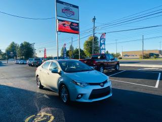 Used 2014 Toyota Corolla LE Upgrade Package / Clean Car Fax / Sunroof / for sale in Truro, NS