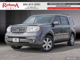 Used 2015 Honda Pilot Touring_Navigation_DVD_Rear Cam_Bluetooth for sale in Oakville, ON