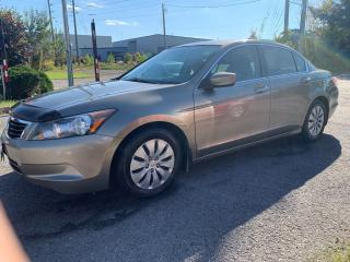 Used 2008 Honda Accord LX, AUTO, POWER GROUP, AIR CONDITION, for sale in Ottawa, ON