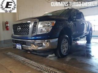 Used 2016 Nissan Titan SV XD  CUMMINS TURBO DIESEL!! for sale in Barrie, ON