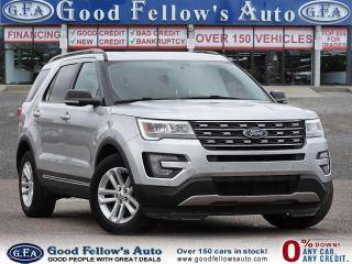 Used 2017 Ford Explorer XLT MODEL, 7 PASS, LEATHER SEATS, REARVIEW CAMERA for sale in Toronto, ON
