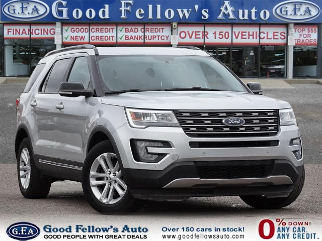 2017 Ford Explorer XLT MODEL, 7 PASS, LEATHER SEATS, REARVIEW CAMERA Photo1