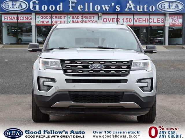 2017 Ford Explorer XLT MODEL, 7 PASS, LEATHER SEATS, REARVIEW CAMERA Photo2