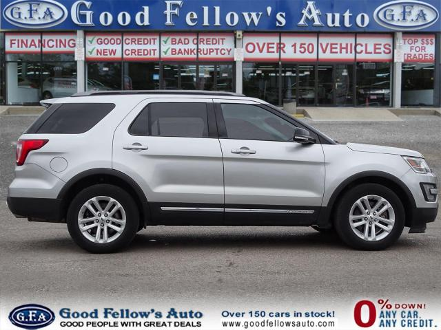 2017 Ford Explorer XLT MODEL, 7 PASS, LEATHER SEATS, REARVIEW CAMERA Photo3