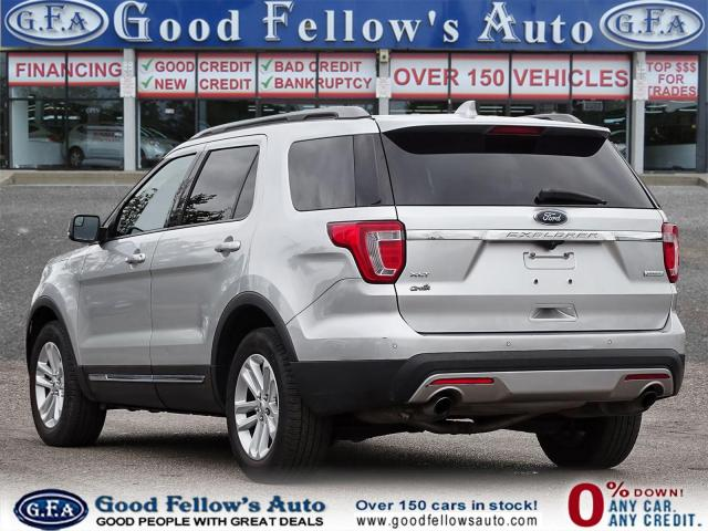 2017 Ford Explorer XLT MODEL, 7 PASS, LEATHER SEATS, REARVIEW CAMERA Photo5