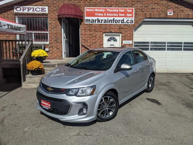 2017 Chevrolet Sonic LT RS-Turbo BT A/C Sunroof HTD CLTH BackUp Cam