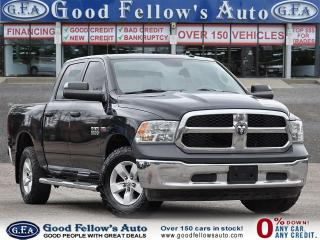 Used 2018 RAM 1500 ST MODEL, CREW CAB, 4WD, REARVIEW CAMERA, 6 PASS for sale in Toronto, ON
