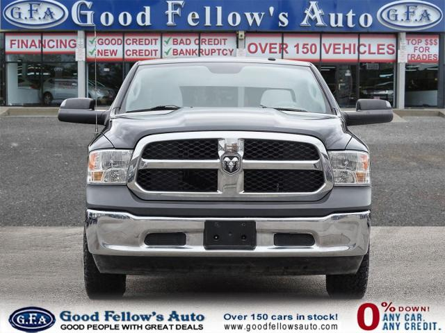 2018 RAM 1500 ST MODEL, CREW CAB, 4WD, REARVIEW CAMERA, 6 PASS Photo2