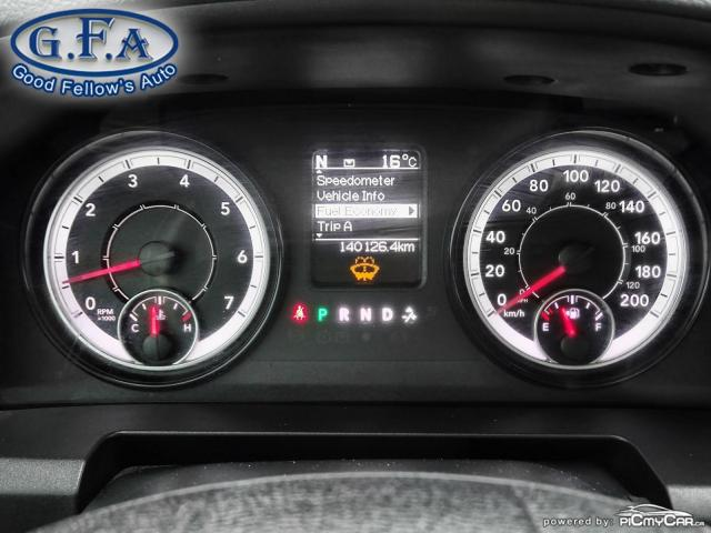 2018 RAM 1500 ST MODEL, CREW CAB, 4WD, REARVIEW CAMERA, 6 PASS Photo15