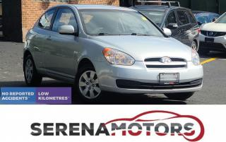 Used 2010 Hyundai Accent GL | COUPE | MANUAL | AC | NO ACCIDENTS | LOW KM for sale in Mississauga, ON