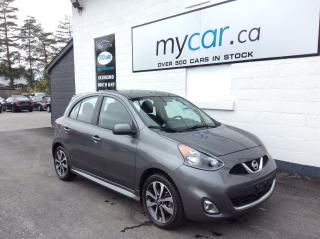 Used 2016 Nissan Micra SR BACKUP CAM. ALLOYS. A/C. BLUETOOTH. POWER GROUP. for sale in Richmond, ON