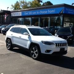 Used 2019 Jeep Cherokee Limited LEATHER, SUNROOF, NAV, HEATED SEATS, V6!! WOW!! for sale in North Bay, ON