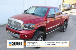 Used 2008 Dodge Ram 3500 Laramie LEATHER SUNROOF 4x4 DIESEL for sale in Regina, SK
