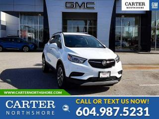 New 2022 Buick Encore Preferred SAFETY PACKAGE II - PWR DRIVER SEAT - BLIND SENSOR for sale in North Vancouver, BC