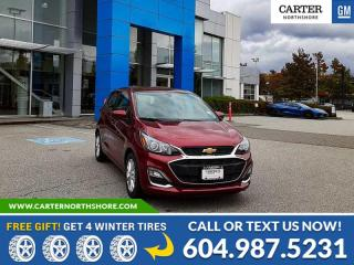 New 2022 Chevrolet Spark 1LT CVT BLUETOOTH - REAR VISION CAMERA - CRUISE CONTROL for sale in North Vancouver, BC