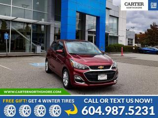 New 2022 Chevrolet Spark 1LT CVT REAR VIEW CAMERA - ONSTAR WIFI - BLUETOOTH for sale in North Vancouver, BC