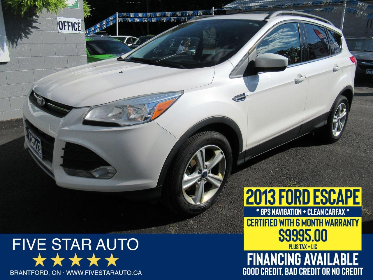 2013 Ford Escape SE *Clean Carfax* Certified w/ 6 Month Warranty