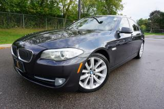 Used 2011 BMW 5 Series SUPER RARE / 6SPD / EXECUTIVE / REAR DVD'S / LOCAL for sale in Etobicoke, ON