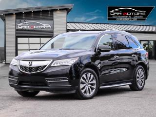 Used 2014 Acura MDX Technology Package 7 PASSENGER TECH PKG! for sale in Stittsville, ON