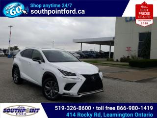 Used 2020 Lexus NX 300 NX 300|SPORT|HTD & COOLED SEATS|MOONROOF| for sale in Leamington, ON