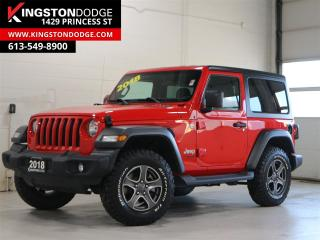 Used 2018 Jeep Wrangler Sport S   4X4   One Owner   Backup Cam   for sale in Kingston, ON