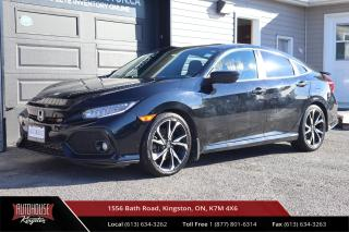 Used 2017 Honda Civic Si ONE OWNER - NAVIGATION - BACK UP CAM for sale in Kingston, ON