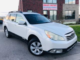 Used 2010 Subaru Outback Premium~2.5L~AWD~Certified~Warrantied! for sale in Rexdale, ON