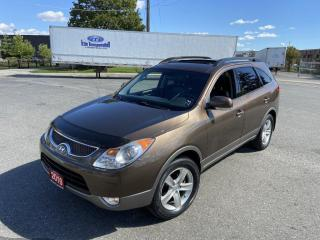 Used 2010 Hyundai Veracruz Only 100000 KM, 7 Pass, DVD, AWD,Warranty availabl for sale in Toronto, ON