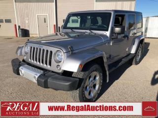 Used 2015 Jeep Wrangler Unlimited Sahara for sale in Calgary, AB