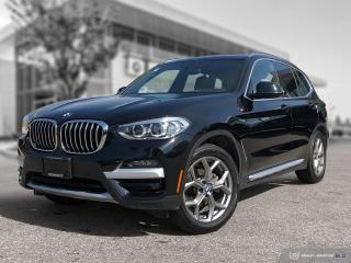Used 2020 BMW X3 xDrive30i Enhanced! Accident Free! HUD! CPO! for sale in Winnipeg, MB