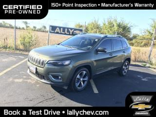 Used 2019 Jeep Cherokee Limited LIMITED**2.4L**HEATED SEATS**LEATHER**TOUCH SCREEN for sale in Tilbury, ON