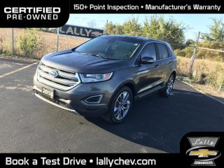 Used 2018 Ford Edge Titanium TITANIUM**AWD**HEATED AND COOLED SEATS**LEATHER** for sale in Tilbury, ON