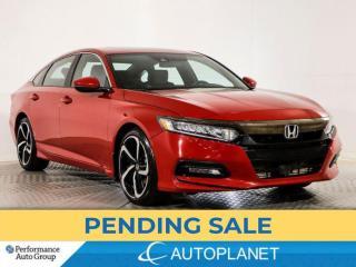 Used 2019 Honda Accord Sport, Honda Sensing, Back Up Cam, Sunroof! for sale in Brampton, ON