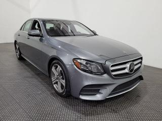 Used 2018 Mercedes-Benz E-Class E 400 TURBO AWD Cuir- Toit panoramique- Navigation for sale in Laval, QC