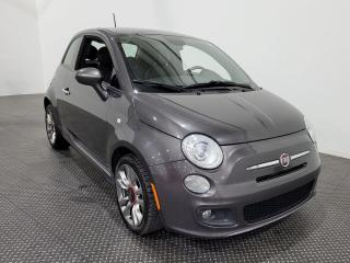 Used 2015 Fiat 500 SPORT Cuir - Sièges chauffants - Climatiseur for sale in Laval, QC