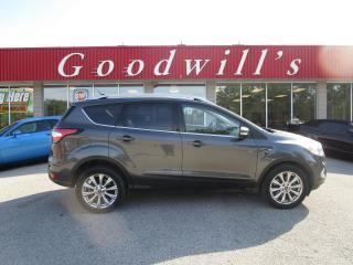Used 2018 Ford Escape TITANIUM 4WD, NAV, SUNROOF, LEATHER! for sale in Aylmer, ON
