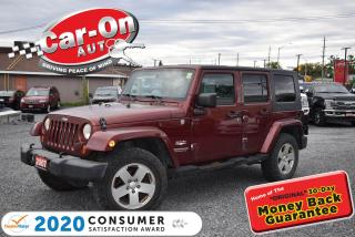 Used 2007 Jeep Wrangler Unlimited Sahara 4X4 | NEW ARRIVAL | 18 ALLOYS for sale in Ottawa, ON