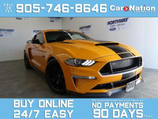 Used 2019 Ford Mustang GT PREMIUM|WHIPPLE SUPERCHARGER |MODS LISTED BELOW for sale in Brantford, ON