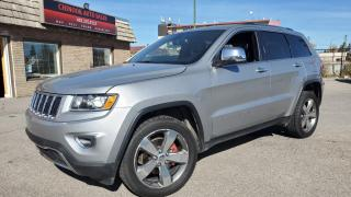 Used 2015 Jeep Grand Cherokee 4WD 4dr Limited, LEATHER, NAV, KEYLESS ENTRY, BK.UP CAM for sale in Calgary, AB