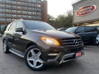 Used 2015 Mercedes-Benz ML 350 AMG SPORTS PKG | NAVI | CAM | PANO | BSM | 4MATIC | DIESEL | for sale in Scarborough, ON