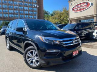 Used 2018 Honda Pilot CLEAN CARFAX | 7 PASS | LANE DEP | COLLISION AVOID| CAM |AWD for sale in Scarborough, ON