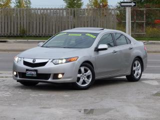 Used 2010 Acura TSX TECH PKG,NAVIGATION,BACK-CAM,LEATHER,CERTIFIED,FULLY LOADED for sale in Mississauga, ON