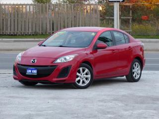 Used 2011 Mazda MAZDA3 ONE-OWNER,NO-ACCIDENTS,CERTIFIED,AUTO,LOW KMS for sale in Mississauga, ON